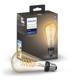 Philips Hue White LED E27 Filament Giant Edison, 7W, 2100...