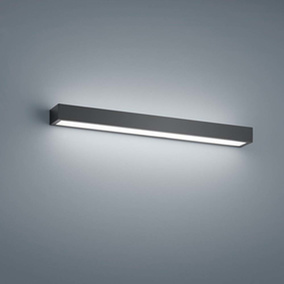 LED Wandleuchte Theia in Schwarz-matt 18W 980lm 600mm