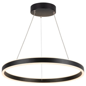 LED Pendelleuchte One in Schwarz 24W 830lm