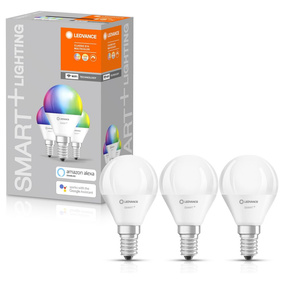 SMART+ Wlan LED Leuchtmittel E14 5W 470lm RGBW 3er Pack