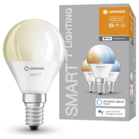 SMART+ LED Leuchtmittel E14 5W 470lm 2700 bis 6500K 3er Set