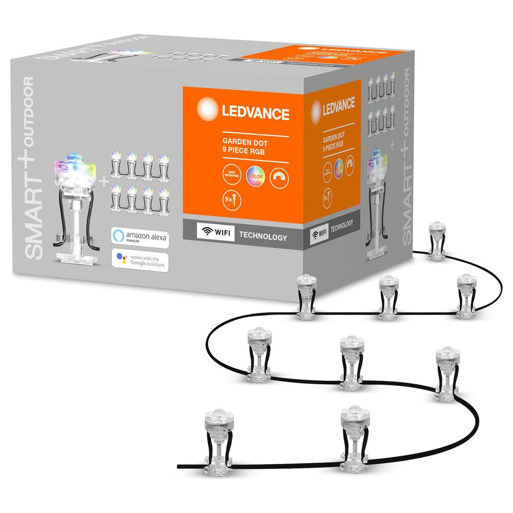 SMART+ LED Lichterkette IP65 RGBW