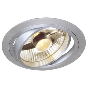 NEW TRIA, ES111 Downlight, rund, alu brushed