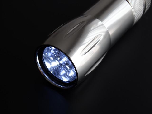 LED-Taschenlampen verbrauchen besonders wenig Strom