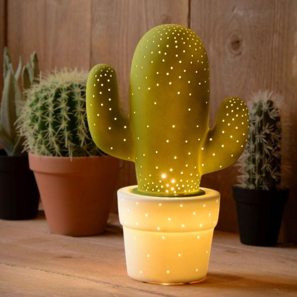 Leuchtende Pflanzen als Nachttischleuchte