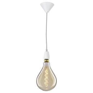 Led-Filament Lampe mit Micro-LEDs